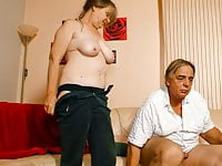 AmateurEuro – Granny Rides Hard Cock On Cam & She Loves It